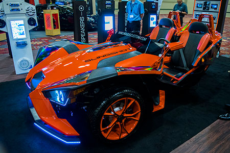 KnowledgeFest - Dallas 2016 Friday show floor vehicles